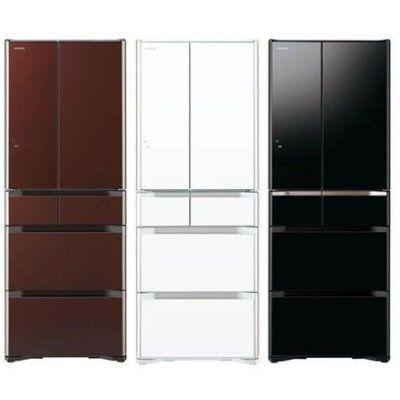 HITACHI日立 555公升六門超變頻冰箱(RG570GJ)琉璃白/琉璃黑/琉璃棕 1
