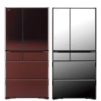 HITACHI日立 735公升六門超變頻冰箱(RX730GJX/ZT)琉璃鏡/光燦棕 1